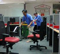 Vệ sinh công nghiệp văn phòng