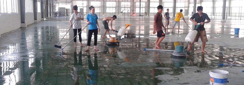 Top 5 đơn vị cung cấp dịch vụ vệ sinh nhà xưởng uy tín tại Hà Nội